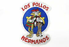 """Los Pollos Hermanos chicken logo Breaking Bad embroidered iron on patch 5"""""""