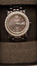 Stuhrling Original Diamond Black Ceramic Women's Watch