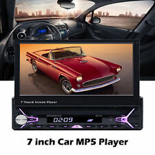 """7"""" Bluetooth Car MP5 Player HD 1080P Touch Screen Hands Free MP3/FM/USB 1 Din"""