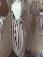 Beautiful Design Low Back Party Maxi Dress~Stunning Ruched Detail~VeryFLATTERING