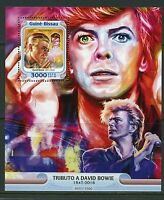 GUINEA BISSAU 2005 TRIBUTE TO DAVID BOWIE  SOUVENIR SHEET  MINT NEVER HINGED