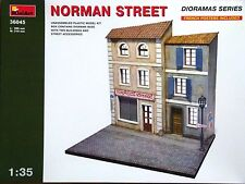 Miniart 1:35 Norman Street Diorama Model Kit