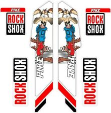 ROCK SHOX  FORK Stickers Decals Mountain Bike Down Hill MTB #b043