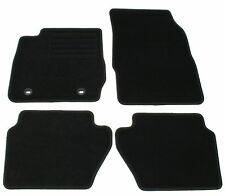 LOT 4 TAPIS MOQUETTE NOIR SPECIFIQUE FORD FIESTA SILVER MAGIC 10/2008-03/2011