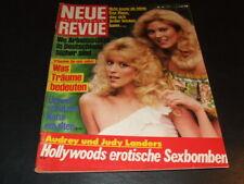 """""""NEUE REVUE"""" 19/1984 (04.05.1984) … Landers, Nosbusch, P. Hofmann, Ilja Richter"""