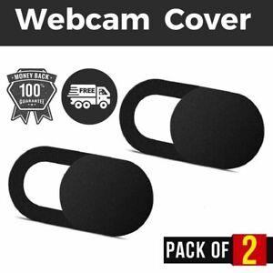 Webcam Cover Security  Protect Camera Laptop Phone Privacy Slide Sticker 2PCS