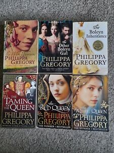 Philippa Gregory Book Bundle 6 Paperbacks