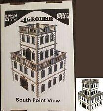 4Ground 28F-GOC-202 28mm Gothic City South Point View (1) Miniature Terrain NIB