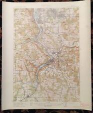 USGS Topographic Map 1914 OREGON CITY QUADRANGLE, OREGON