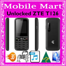 UNLOCKED◉VALUE ZTE CRUISE T126 TELSTRA◉BUTTON PHONE◉3G◉CAMERA◉INTERNET◉SMS◉CHEAP