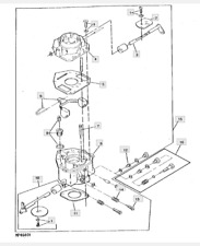 Carb ASS Fit Onan 18HP John Deere 317 P218G  Carburetor HE146-0428