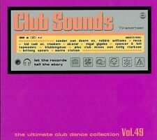 Club suoni-VOL. 49 NUOVO 3 CD Novaspace Brooklyn Bounce Royal Gigolos Alcazar