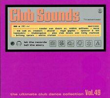 Club Sounds-Vol. 49 NEUF 3 CD Novaspace Brooklyn Bounce Royal gigolos Alcazar