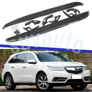 US Stock Side Step Fit for Acura MDX 2014-2021 Durable Running Boards Nerf Bars