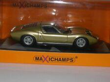 Lamborghini Miura - 1966 - Gold - Maxichamps - 1:43