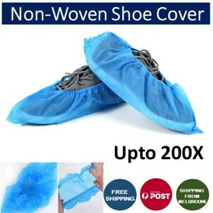 Disposable Non-woven Shoe Cover Anti Slip Cleaning Overshoes Boot Cover Upto 200