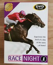 Race Night 1 DVD Game British Racecourses Horse racing Host Your Own Home Game