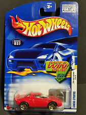 2002 Hot Wheels #037 First Editions 25/42 : Lancia Stratos - 52938 Gold 5 Spoke