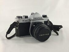 Excellent Pentax Asahi K1000 35mm SLR Film Camera W/SMC M 50mm 1:1.4 50mm Lens
