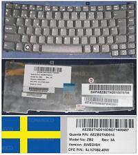 Clavier Qwertz Suédois ACER TM2300 ZB2 9J.N7082.40W AEZB2TND010 KB.TNT07.038