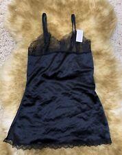 Sunspice Sexy apparel black Camisole Top sleepwear nightwear size M unpadded