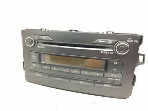 Toyota Auris Stéréo Radio Lecteur CD Tête Unité 86120-02520