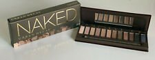NEW! URBAN DECAY NAKED 12 MATTE SHIMMER SATIN SPARKLE EYESHADOW PALETTE W/ BRUSH
