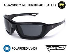 Fuglies PP10 Safety Sunglasses - Asnzs1337 Polarised Tinted Safety Glasses