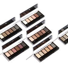6 Couleur Femme Palette Fard Ombre à Paupières Mat Glitter Eyeshadow Maquillage