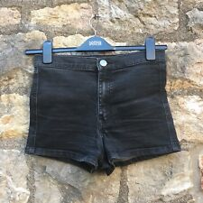 Primark Denim & Co- Girls Black denim shorts - UK 12 - Great Condition