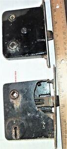 Two Antique  Door  Locks  1800 ?
