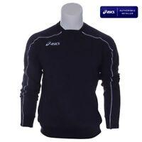 Asics Sweat Blouse Cotton BRAND NEW Men Running Training Gym Fitness T674Z8