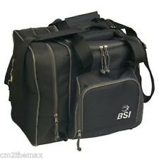 BSI Deluxe Single Bowling Ball Bag BLACK w free ship in USA ! $27.99