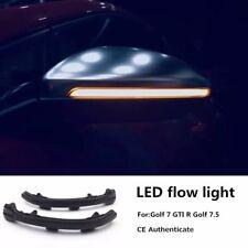 LED Light Dynamic Sequential Mirror Signal FOR VW GOLF MK7 7.5 TSI GTI R (13-19)