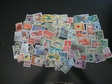 Nice collection (lot) of 250 different Indonesia