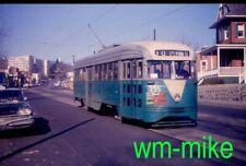 #01 - trolley - Washington DC Capital Transit PCC #1235 in 1960 Duplicate slide