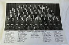 Jan 1967 B/W photo ~ OFFICER & CIVILIAN STAFF/FACULTY DEFENSE INFORMATION SCHOOL