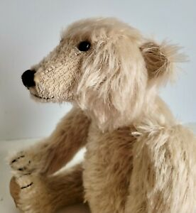 CHARMING OLD TEDDY BEAR - LONG NOSE / LONG ARMS - LTD EDTN DEAN'S RAG BOOK BEAR