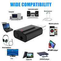 3.5mm USB Wireless Bluetooth 5.0 Music Audio Stereo Receiver Adapter Dongle USA