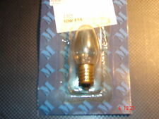 MARK SLOJD XMAS BULB-230v 10w E14 ( screw in clear)