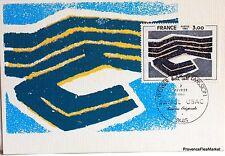 Yt 2075 RAOUL UBAC  Carte Postale Maximum