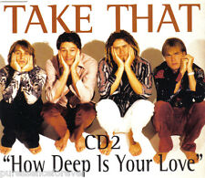 TAKE THAT - How Deep Is Your Love (UK 4 Tk CD Single Pt 2)