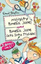 Naughty Amelia Jane! & Amelia Jane Gets Into Trouble! by Enid Blyton A9 LL85