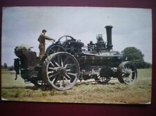 POSTCARD HAULAGE FOWLER PLOUGHING ENGINE NR 1212