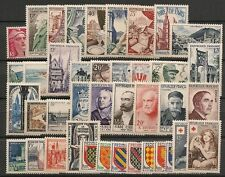 ANNEE COMPLETE NEUVE XX 1954 TIMBRES LUXE