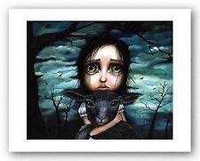 FANTASY ART PRINT Clarice Angelina Wrona