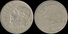 Monnaie Méxique/Mexico 1 peso 1972 cu/nickel (mc18751)