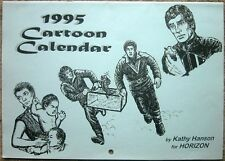 "Blake's 7 Fanzine ""1995 Cartoon Calendar"" GEN"