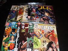 DC Comics JLA #116-125, Annual #2 80pg Giant#1-2 Batman Superman  Flash1998-06