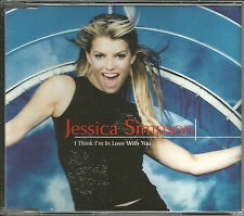 JESSICA SIMPSON  I think I'm In RARE MIX & Where VIDEO w/ NICK LACHEY CD single